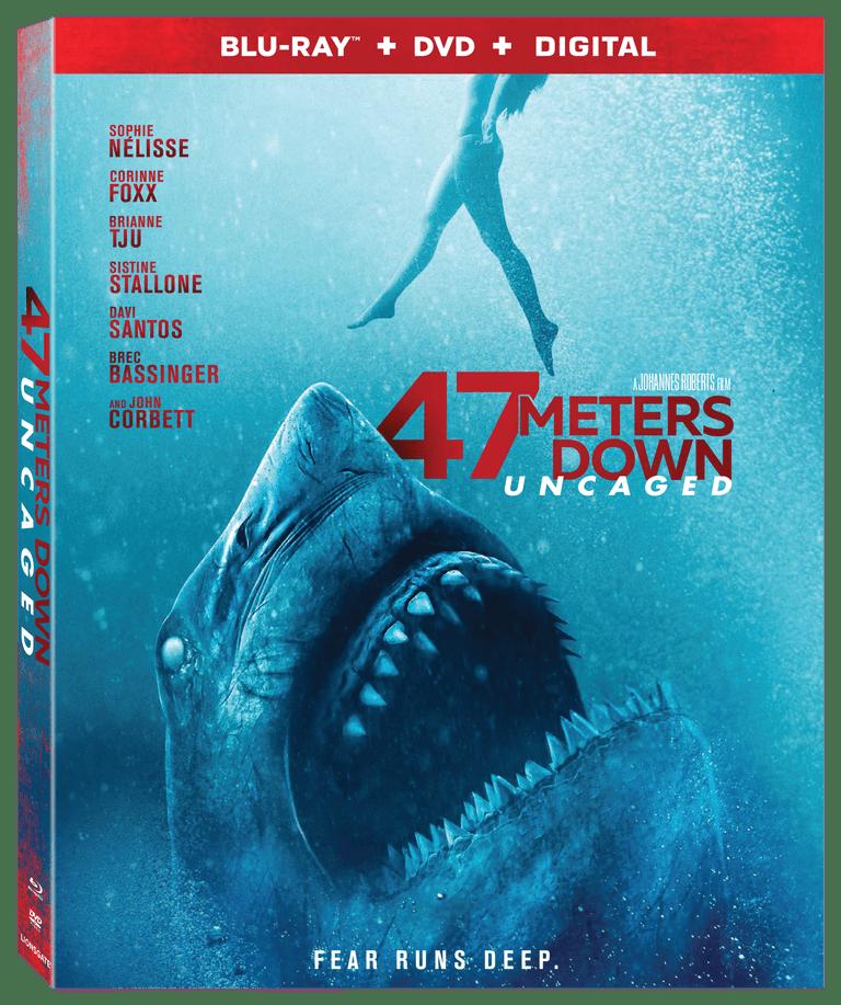 47 Meters Down: Uncaged Blu-ray