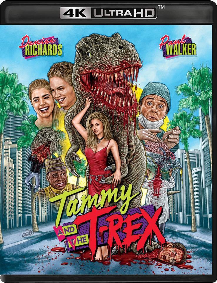 Tammy and the T-Rex 4K Ultra HD Vinegar Syndrome