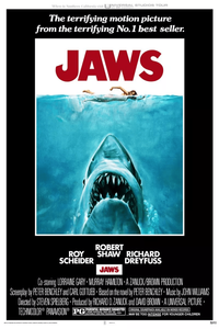 Jaws Poster Real Photo