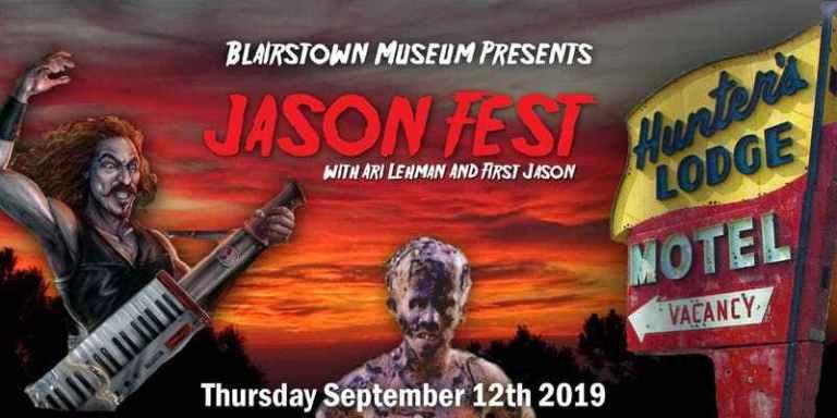 Blairstown Museum Jason Fest Ari Lehman