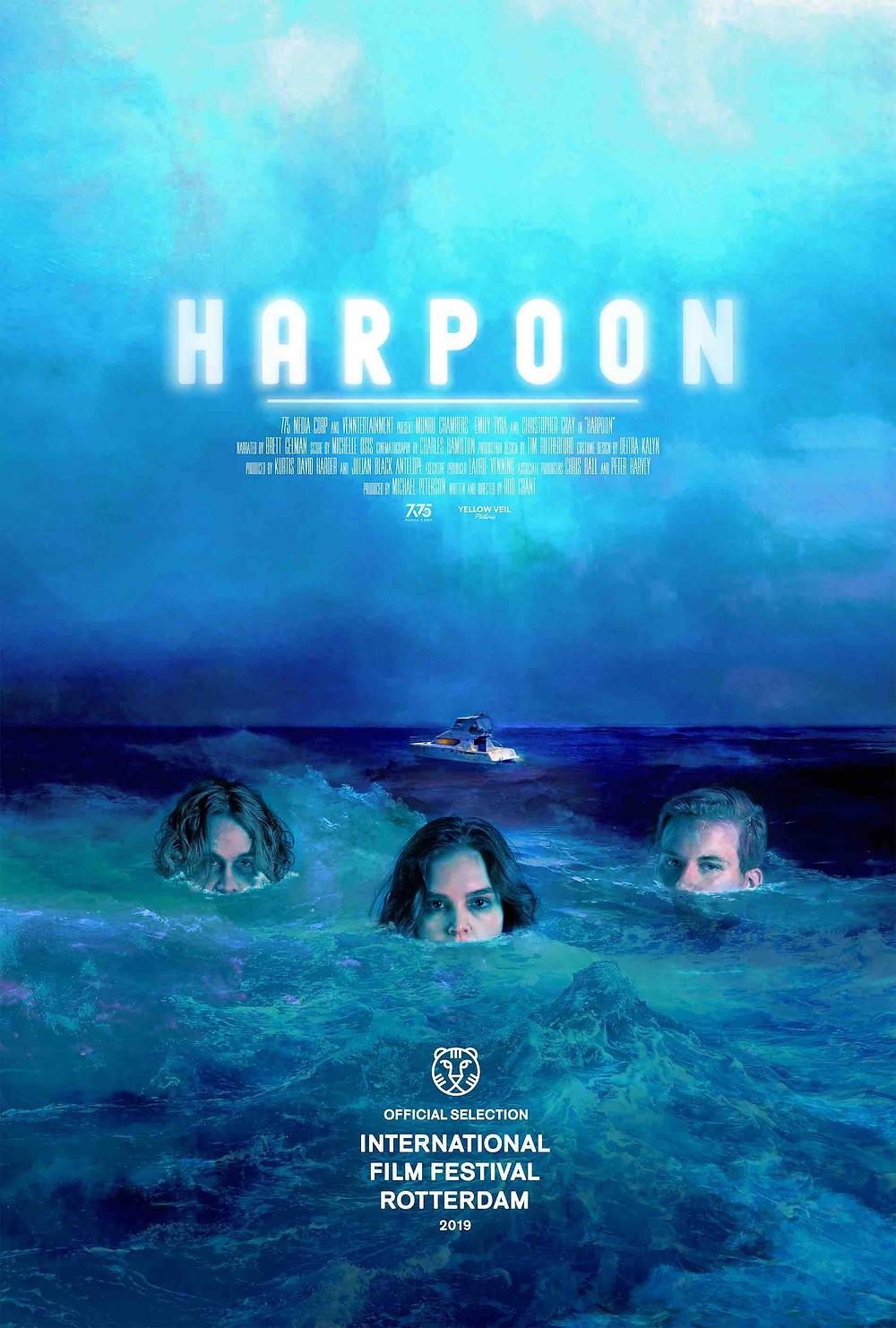 Rob Grant Harpoon Poster