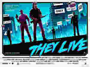 Matt Ferguson Poster John Carpenter They Live