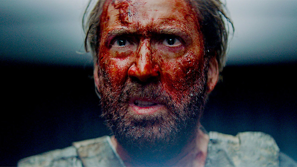Nicolas Cage Color Out of Space SpectreVision