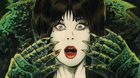 Elvira's New Comic Series 'Shape Of Elvira' Will Spoof 'The Shape Of Water'