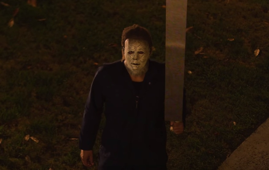 Halloween Except the Knife is 50 Feet Long Short Film