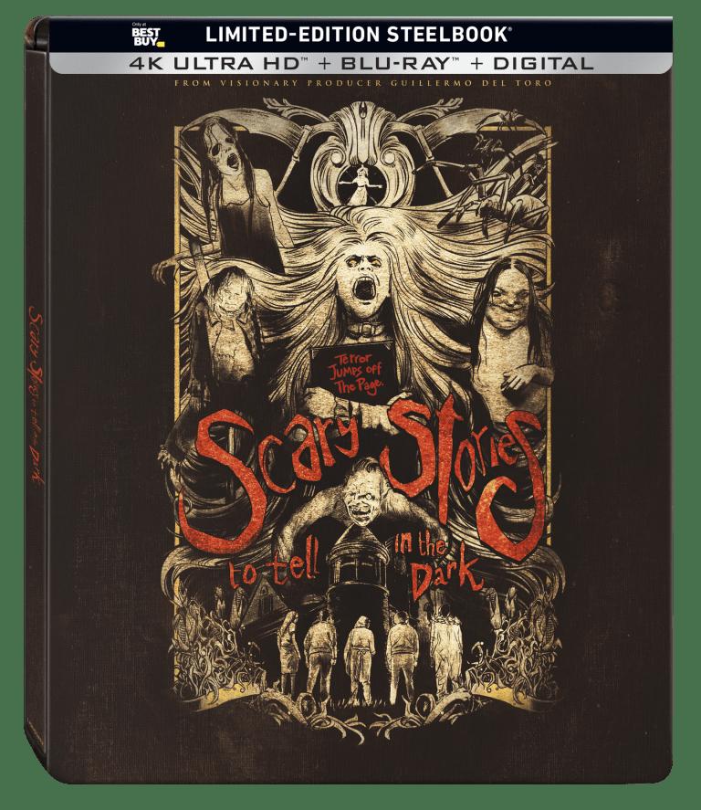 Scary Stories to Tell in the Dark 4K Steelbook Best Buy