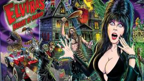 "New Sterns Pinball Machines Take Us Inside ""Elvira's House Of Horrors"""