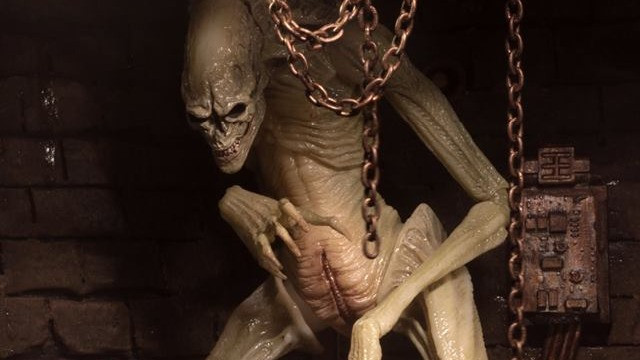 NECA Alien Resurrection Newborn Figure