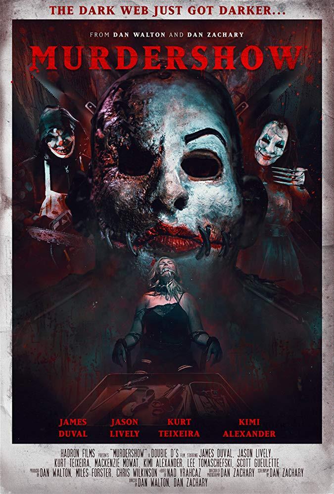 Murdershow Poster Dan Walton Dan Zachary
