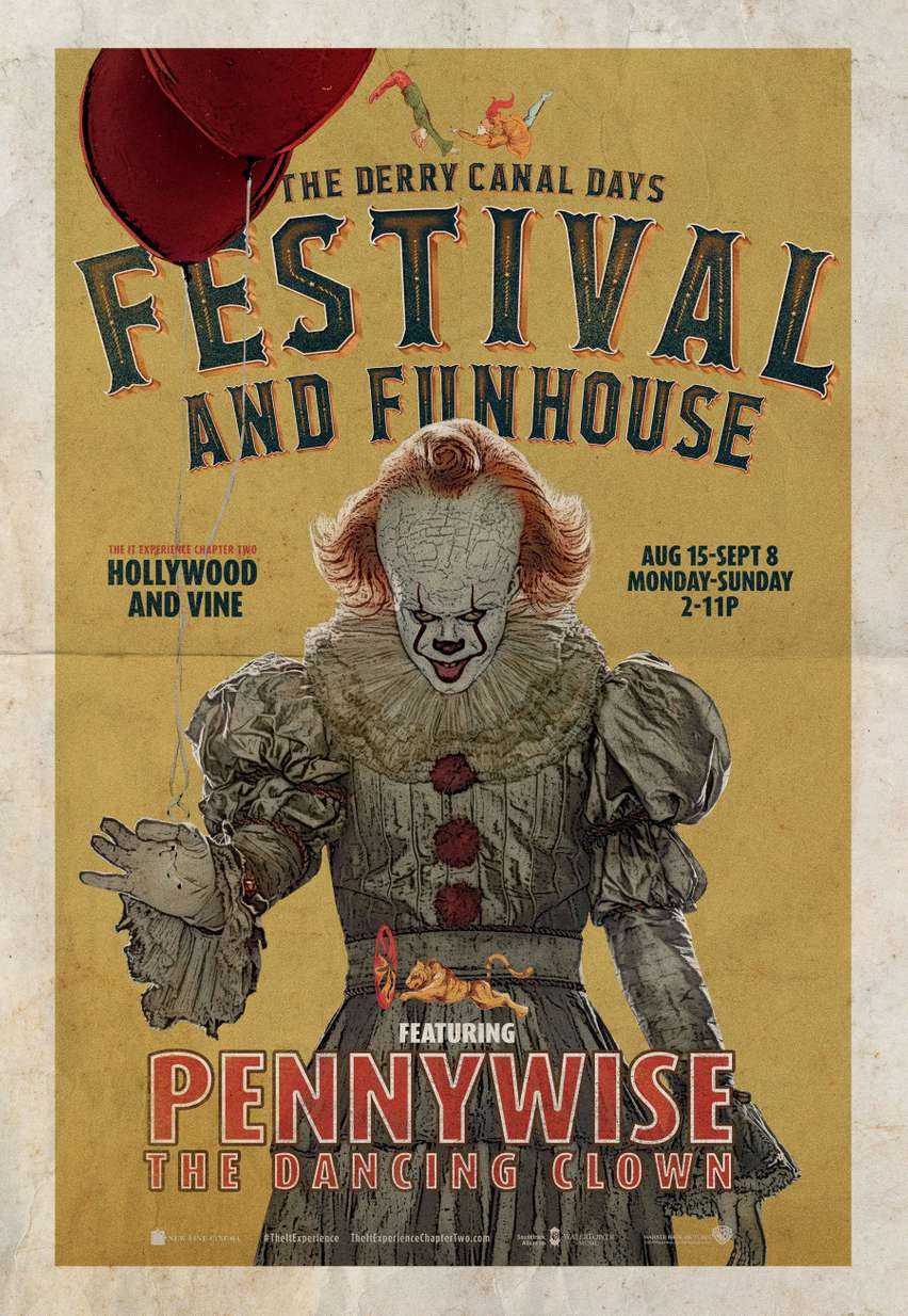 IT Chapter Two The Derry Canal Days Festival & Funhouse Event