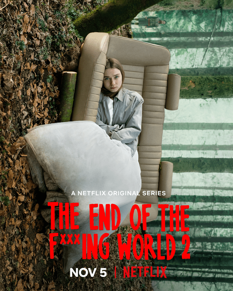 The End of the F***ing World Season 2 Poster
