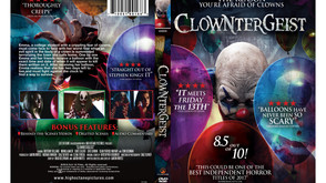 Clowntergeist Releases Tomorrow And Here's The Film's Cover Art