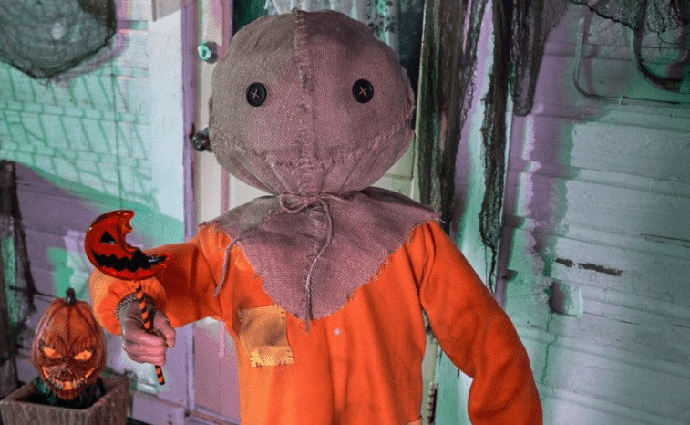 Sam Animatronic Trick 'r Treat Spirit Halloween