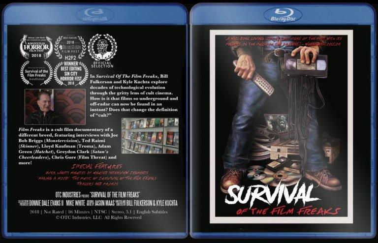 Survival Film Freaks Blu-ray DVD Indiegogo