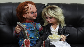 Life-Size Replica Dolls Of Chucky And Tiffany Are On The Way From NECA