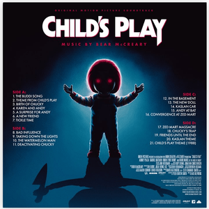 Bear McCreary Child's Play Score Waxwork Vinyl