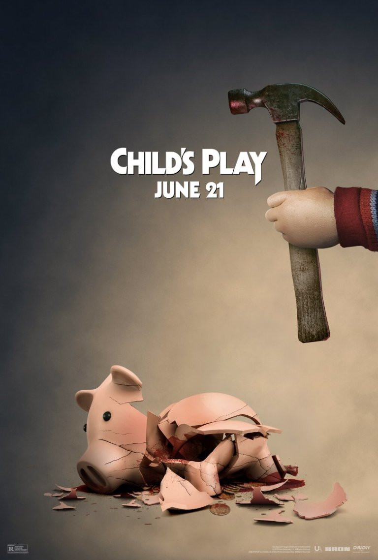 Child's Play Chucky Hamm Toy Story Poster