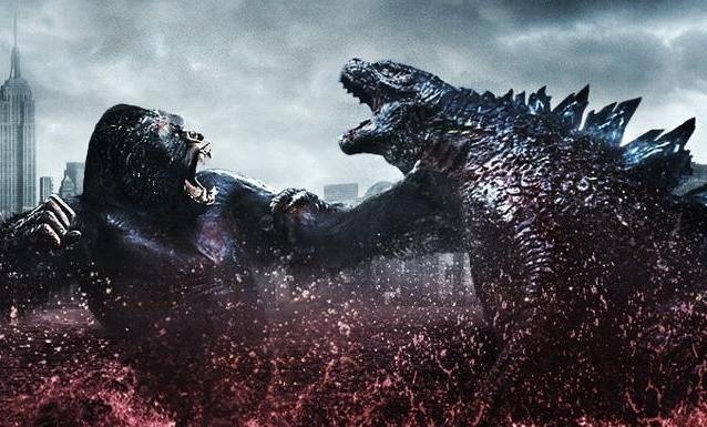 Godzilla vs Kong One Will Fall Art