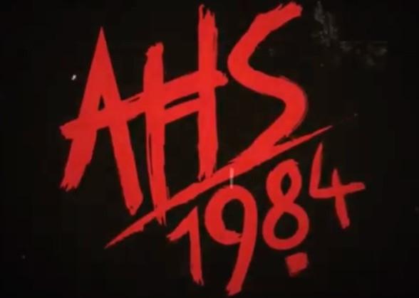 American Horror Story: 1984 Season 9 Title Teaser