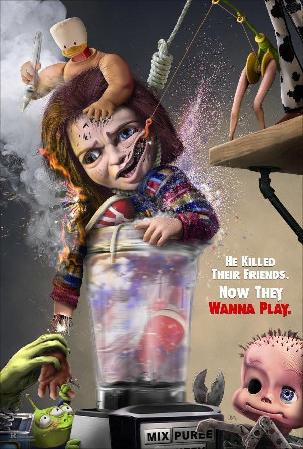 Child's Play Mutant Toys Revenge Art