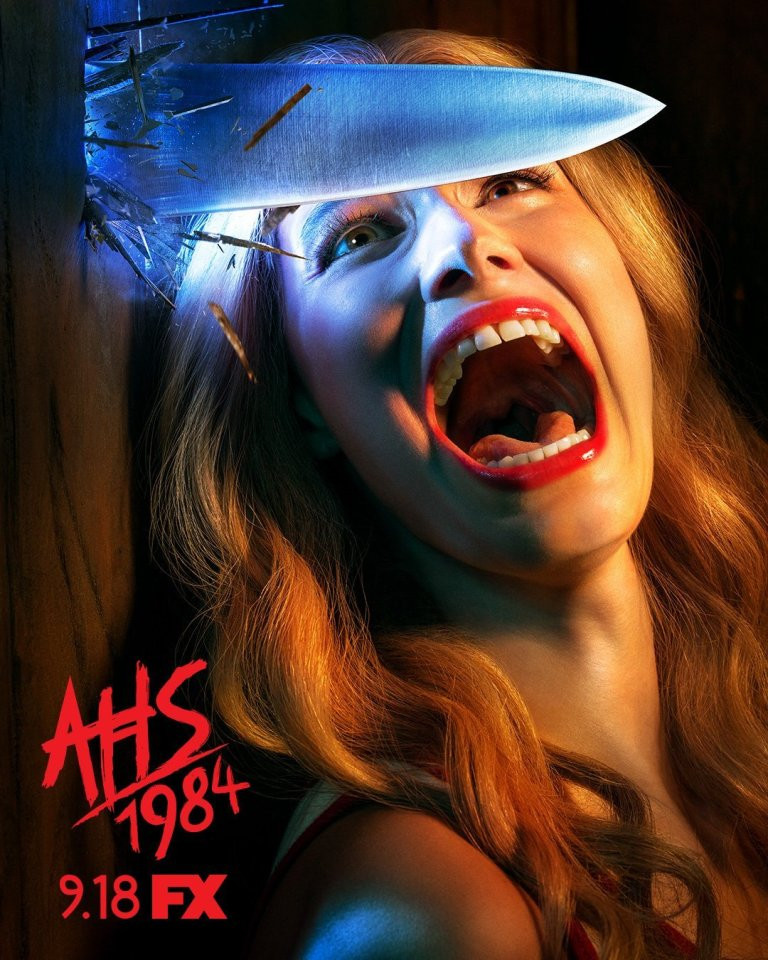 American Horror Story: 1984 Official Poster