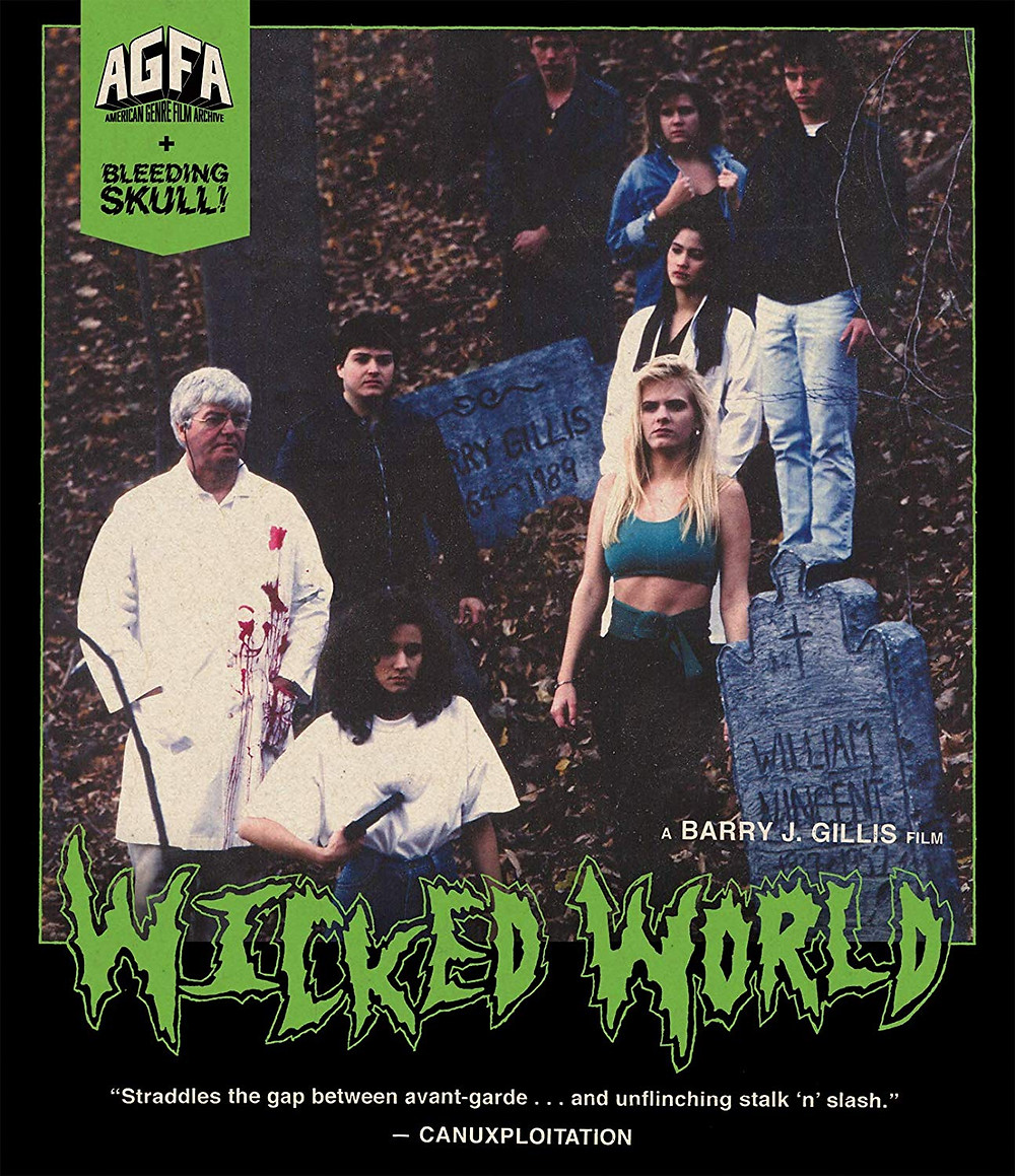 Wicked World Blu-ray Barry J. Gillis AGFA