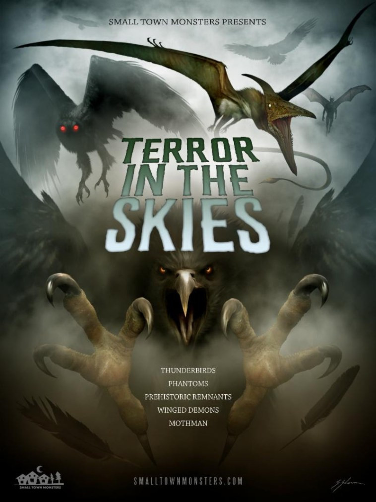 Terror in the Skies Small Town Monsters Poster Trailer