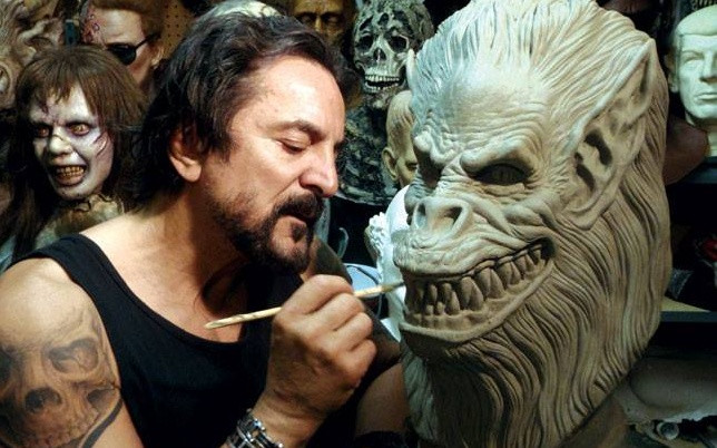 Tom Savini Coffee Table Biography