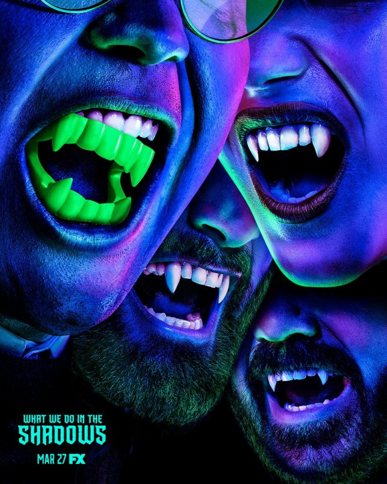 FX What We Do in the Shadows Blacklight Posters