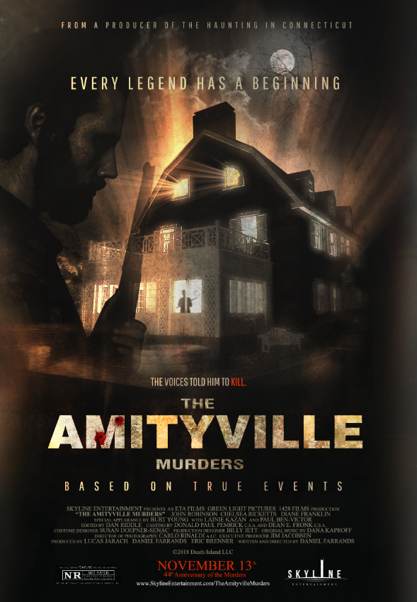 The Amityville Murders Poster Theatrical Release