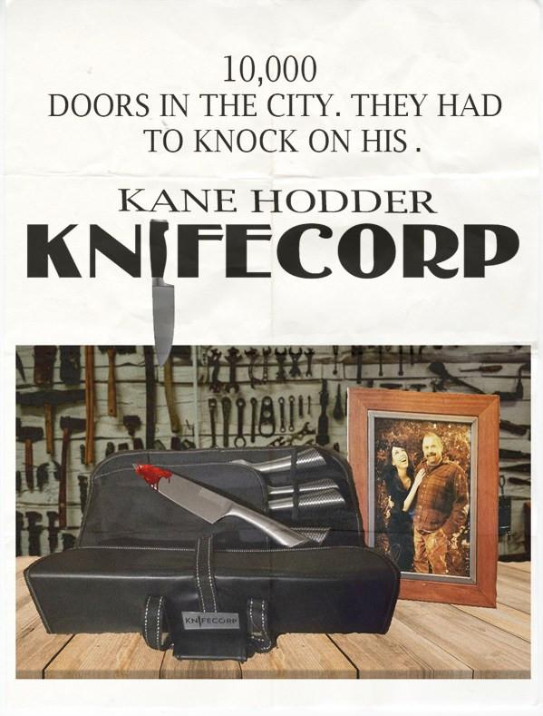 Knifecorp Kane Hodder Poster