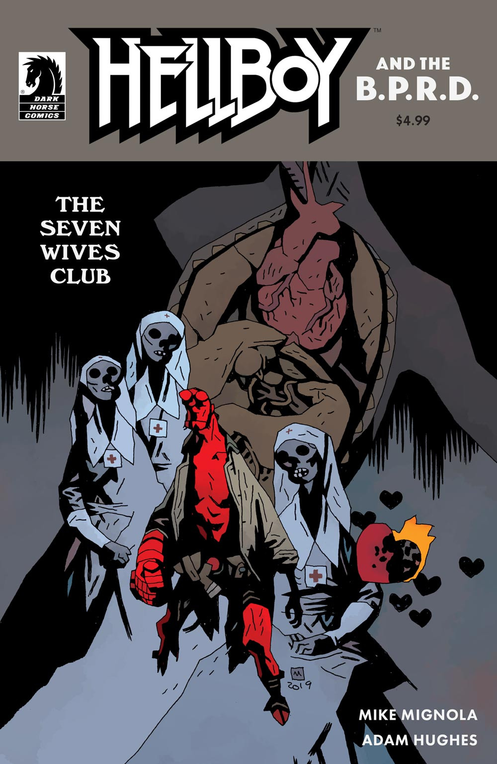 Hellboy & The B.P.R.D.: The Seven Wives Club Cover B