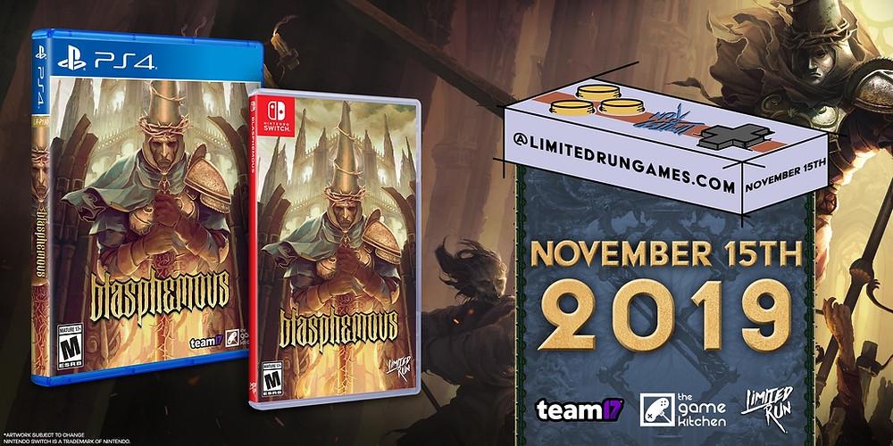 Blasphemous Limited Run Games