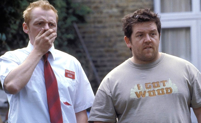 Simon Pegg Nick Frost Rivers Of London