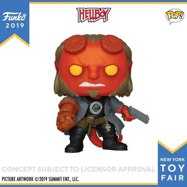 Hellboy Funko Pop! Toy Fair 2019
