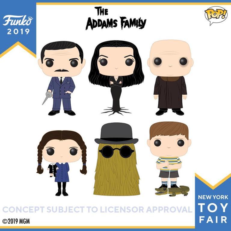 Toy Fair Funko Addams Family Pop