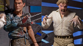 Final Packaging For NECA's 'Evil Dead 2' 30th Anniversary Double Pack