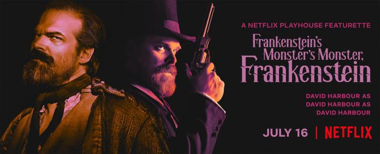 Frankenstein's Monster's Monster, Frankenstein David Harbour Trailer