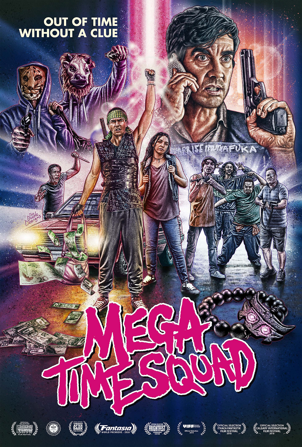 Mega Time Squad Dark Sky Films Poster