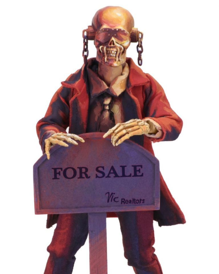 NECA Megadeth Vic Rattlehead