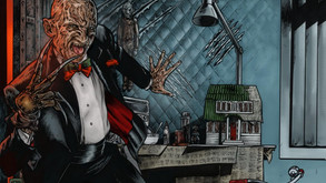 """Here's The Final Packaging For NECA's """"Tuxedo Freddy"""" Figure"""