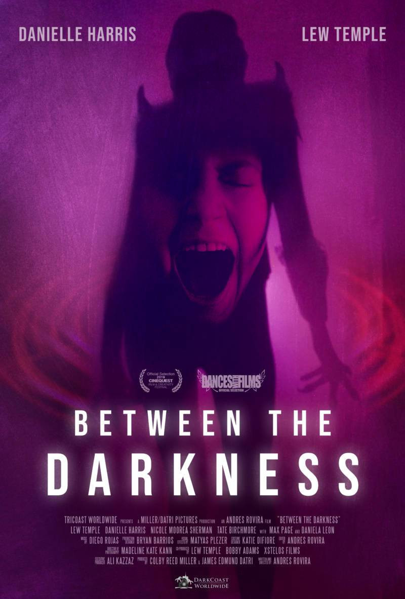 Between the Darkness Andres Rovira Poster