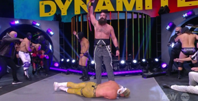 """The Dark Order's """"Exalted One"""" Brodie Lee Is the New AEW TNT Champion [Video]"""