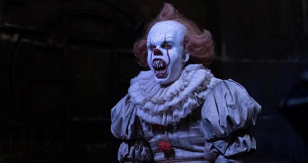 Bill Skarsgård IT Chapter Two Vicious Pennywise