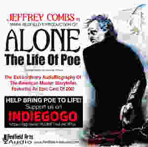 Jeffrey Combs Edgar Allan Poe Alone The Life Of Poe