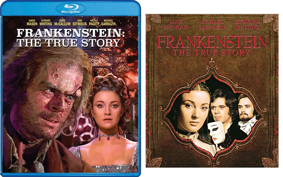 Frankenstein The True Story Scream Factory Blu-ray