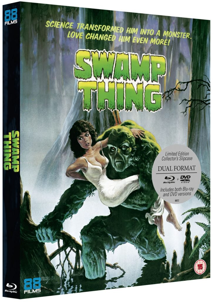 Swamp Thing Blu-ray 88 Films