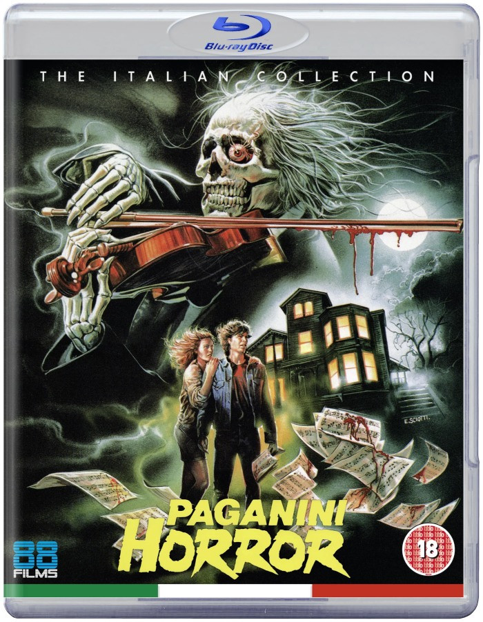Paganini Horror Blu-ray 88 Films