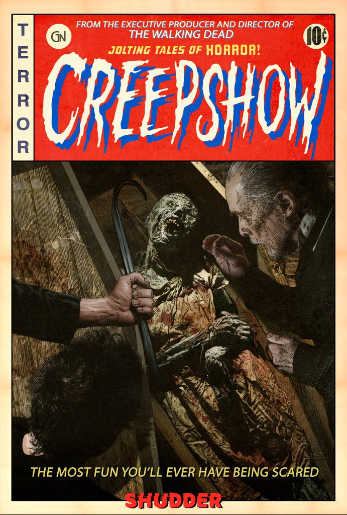 Shudder Creepshow Rob Schrab Bad Wolf Down