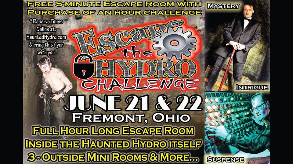 Escape the Haunted Hydro Challenge